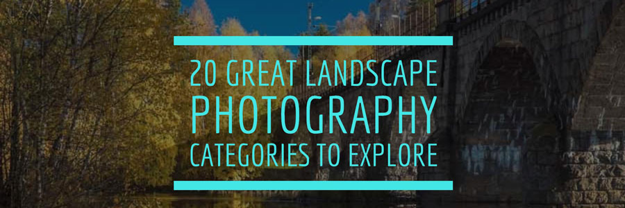 landscape photography categories